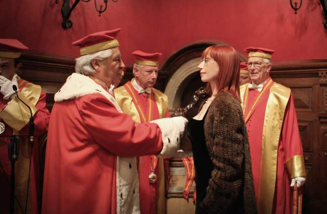 Alessandra Piubello nominata Cavaliere della Confrérie des Chevaliers du Tastevin