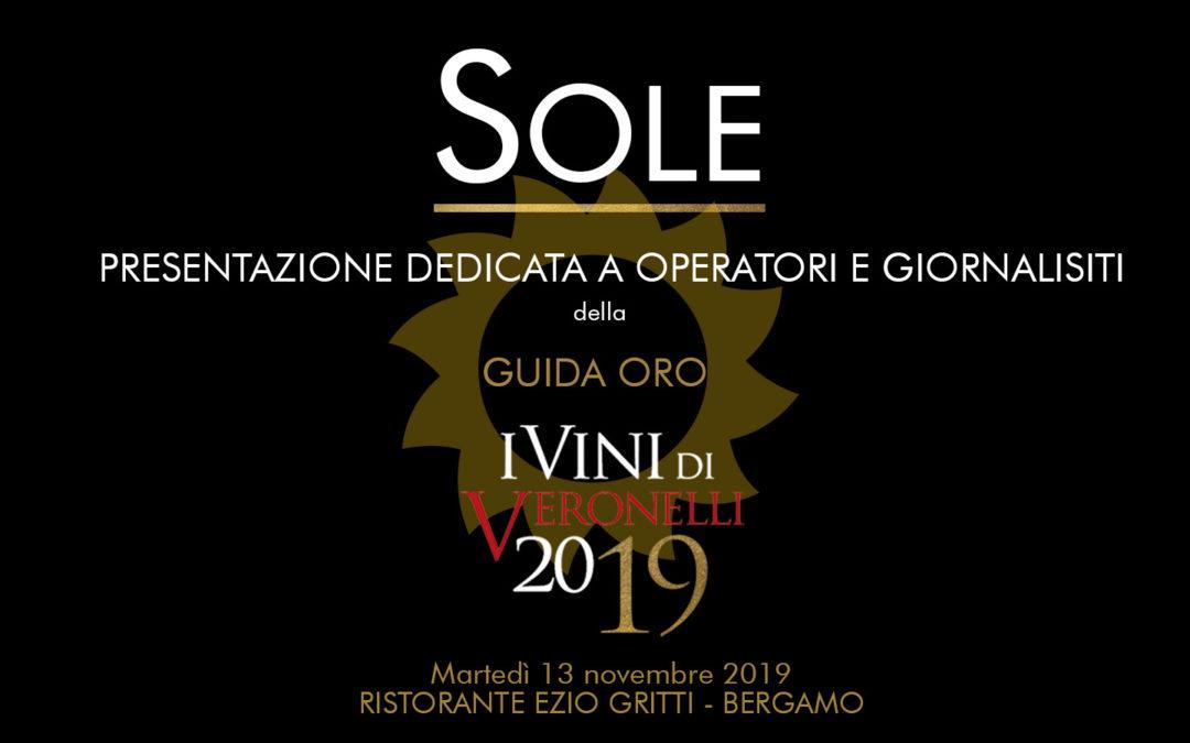 Presentata la Guida Oro I Vini di Veronelli 2019