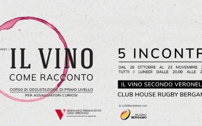 Il vino secondo Veronelli, dal 26 ottobre al via il corso di degustazione di primo livello