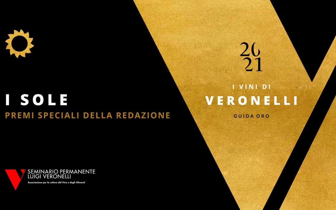 Assegnati a Bergamo i dieci Sole, premi speciali della Guida Oro I Vini di Veronelli 2021