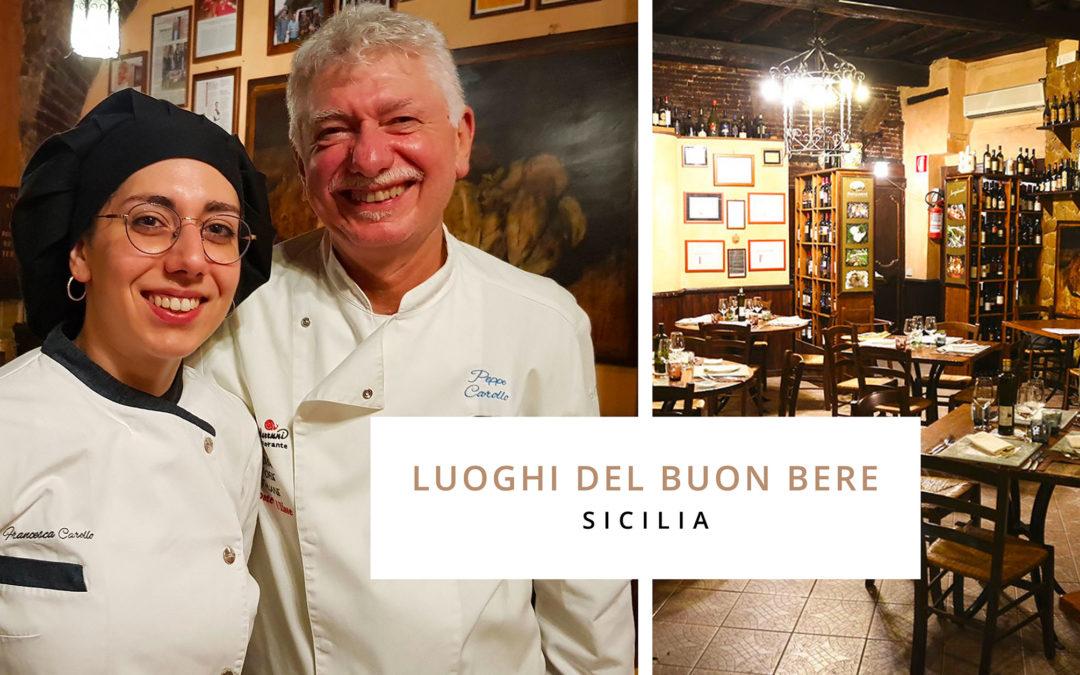 Melodie gastronomiche in terra siciliana